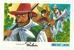 Image Chocolat Poulain Série N° 154 : Les 3 Bandits De Napoli => Image N° 40 - Gredins Malfrats Banditisme Italie - Poulain