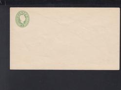 Österreich Umschlag 3 Kreuzer Grün Ungebraucht - Ganzsachen