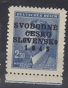 1945 Revolutionary Local Stamp  - Tynec Nad Sazavou - MNH** - Czechoslovakia