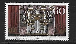BRD  1989  Mi 1441  900 Jahre Arp-Schnitgerorgel In Der Hauptkirche St. Jacob, Hamburg