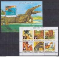 K40 Guinea-Bissau - MNH - Animals - Prehistorics