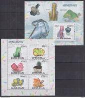 K40 Guinea-Bissau - MNH - Minerals