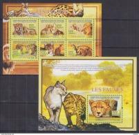 M40 Guinea - MNH - Animals - Cats - 2009