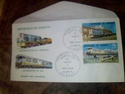 Enveloppe 1 Er Jour D Emission Republique De Djibouti Chemin De Fer Diouti Addis Abeba 1979