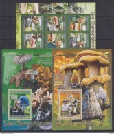 M40 Guinea - MNH - Plants - Mushrooms - 2008