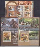 M40 Guinea - MNH - Animals - Prehistorics - Elephants - 2008