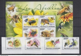 M40 Burundi - MNH - Insects - Honeybees - 2011