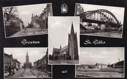 St Gillis (Dendermonde) Groeten Uit St Gillis, Viaduct, Nieuwe Tuinwijk, Koningin Astridlaan, ... (pk36344) - Sint-Gillis-Waas
