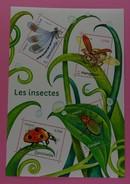 France 2017 - Série Nature : Les Insectes . Bloc Neuf.