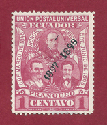 Ecuador - 1 Centavo - 1897/98 - Ecuador