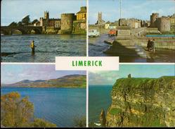 Limerick Ireland Mlti View - Cartes Postales