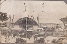 SAO PAULO-CARTE PHOTO-Cirque HAGENBECK 1928 Animé (carte Très Défectueuse Mais Document Peu Courant)