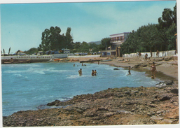 CPM:   ALCANAR  (espagne):   Camping Los Alfaques.     (D 598) - Tarragona