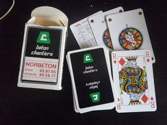 Jeu De Cartes à Jouer - NORBETON LOOS LESQUIN BTP - 54 Cartes