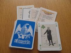 Jeu De 52 Cartes à Jouer - USA UNION AMERICAINE - 54 Cartes
