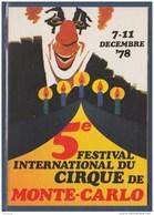 = 1978 Festival International Du Cirque Monte Carlo Timbre émis Lors De Cette Manifestation 1167 1168 1169 1170 1171 - Zirkus