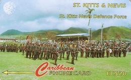 *ST. KITTS & NEVIS - 95CSKA* -  Scheda Usata - St. Kitts & Nevis