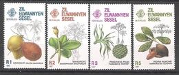 ZES Seychelles 1987 Trees MNH CV £7.20