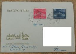 DDR 1958 N° YT 380 381 /  10eme Anniversaire De La Municipalité De Berlin Est