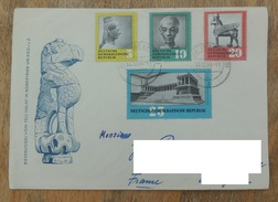 DDR 1959 SERIE N° YT 458 459 460 461 -  TRESORS ARTISTIQUES RESTITUES PAR L'URSS - DDR