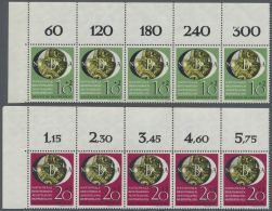 Bundesrepublik Deutschland: 1951, Nationale Briefmarkenausstellung, Kompletter Satz In Postfrischen 5er-Streifen Aus Der