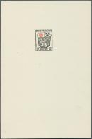 Französische Zone - Allgemeine Ausgabe: 1946, 15 Pfg. Wappen, Künstlerdruck (93 X 139 Mm) Im Drei-Farben-Druck