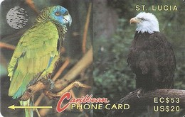 *IS. ST. LUCIA: 11CSLA* - Scheda Usata - Saint Lucia