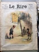 Le Rire   Dessins Poulbot Milarko Entre Autre Mai 1923 - Sonstige