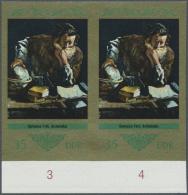 DDR: 1973, Staatliche Kunstsammlungen Dresden 'Galerie Alte Meister' 35 Pf. 'Archimedes Von Domenico Fetti (ital. Maler)
