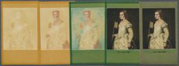 DDR: 1973, Staatliche Kunstsammlungen Dresden 'Galerie Alte Meister' 25 Pf. 'Dame In Weiß Von Tizian (ital. Maler)