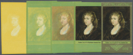DDR: 1973, Staatliche Kunstsammlungen Dresden 'Galerie Alte Meister' 20 Pf. 'Frau Mit Geflochtenem Blondem Haar Von Rube