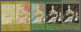 DDR: 1973, Staatliche Kunstsammlungen Dresden 'Galerie Alte Meister' 15 Pf. 'Madonna Mit Der Rose Von Parmigianino (ital
