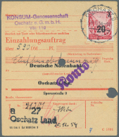 """DDR: 1954, 20 Auf 24 Pf. Fünfjahrplan, Offsetdruck Mit Wertaufdruck """"20"""" Im Buchdruck Mit Sauberer Entwertung """"OSCH"""