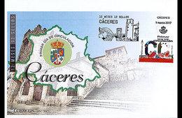 Spanje / Spain - Postfris / MNH - FDC 12 Maanden, Caceres 2017