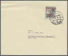 """Sudetenland - Karlsbad: 1938, 50 H. Masaryk Mit Kind Auf Umschlag Aus """"KARLSBAD 4d 4.X.38"""", Adressiert An Dr. Hörr,"""