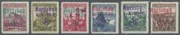 Sudetenland - Karlsbad: 1938, 1,20 Kc. Bis 3 Kc. Stadtbilder, Sechs Verschiedene Werte, Postfrisch, 3 Kc. Mit Nicht Ganz
