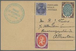 """Deutsche Abstimmungsgebiete: Allenstein: 1920, """"COMMISSION D'ADMINISTRATION ET DE PLEBISCITE ALLENSTEIN - OLYSZTYN TRAIT"""