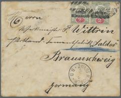 Deutsch-Südwestafrika - Besonderheiten: 1894: Brief Von Reiter Wittrin Bei Der Schutztruppe Ketmanshoop In Zwartmod