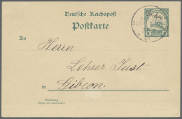 "Deutsch-Südwestafrika - Stempel: 1904: ""GOCHAS"" Handschriftlich Mit Wanderstempel ""DEUTSCH-SÜDWEST-AFRIKA 30.1"