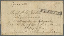 Deutsch-Südwestafrika - Stempel: 1852, Vollständiger Faltbrief Aus GEORGETOWN Von Cathrine G. Elliot An Ihren