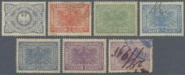 Deutsch-Ostafrika - Besonderheiten: 1890/1905 (ca.), Posten Von 22 Meist Unterschiedlichen REVENUES = Gebühren- Bzw