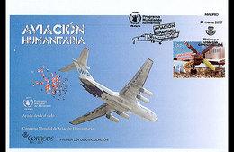 Spanje / Spain - Postfris / MNH - FDC Luchtvaart Voor Noodhulp 2017