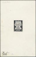 Deutsches Reich - Inflation: 1919, 10 Pfg. Bis 25 Pfg., Zehn Verschiedene Entwürfe Und Essays Mit Nicht Angenommen