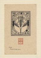 Deutsches Reich - Inflation: 1919, 10 Pfg. Bis 25 Pfg., Drei Verschiedene, Nicht Angenommen Entwürfe Von Lenz Ihlen