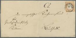 Deutsches Reich - Brustschild: 1872, 2 Kr. Großer Schild Orange, Farbfrisch, Gut Geprägt Und Gut Zentriert Mi
