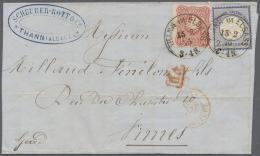 Deutsches Reich - Brustschild: 1875, 2 Groschen Großer Schild Zusammen Mit 10 Pfge. Auf Nicht Mehr Ganz Vollst&aum