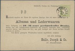 """Deutsches Reich - Brustschild: 1872, 1/3 Gr. Großer Schild Mit Hufeisenstempel """"BERLIN 24.3.73"""" (Spalink 1 N4) In"""