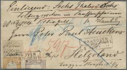 Deutsches Reich - Brustschild: 1872: Ein WERTBRIEF über 6 Thaler Und 6 Silbergroschen Frankiert Mit Kleiner Schild
