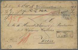 Deutsches Reich - Brustschild: 1872, 10 Groschen Hellgraubraun Freimarken Ziffern Handschriftlich Entwertet Als Einzelfr