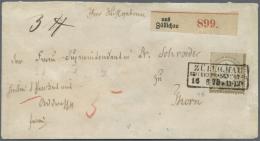 Deutsches Reich - Brustschild: 1872, Freimarke 5 Gr Ockerbraun Kleiner Schild, Farbfrischer Wert Mit Guter Prägung